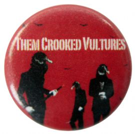 Them Crooked Vultures - 'Group' Button Badge